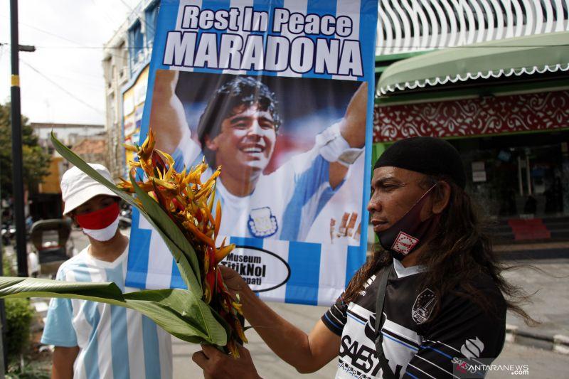Maradona akan dimakamkan di luar kota Buenos Aires