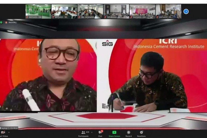Sinergi BUMN, Semen Baturaja-SIG dirikan pusat penelitian ICRI