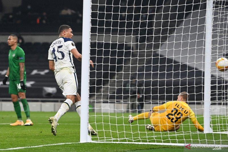 Tottenham gasak Ludogorets 4-0, Vinicius sumbang dua gol