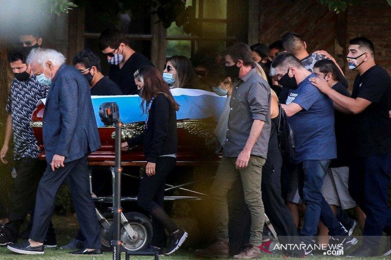 Otoritas Argentina menyelidiki kematian Diego Maradona