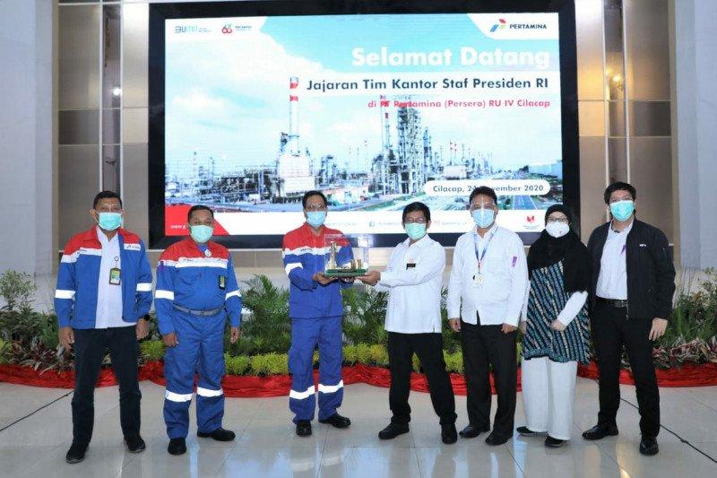 Tenaga ahli KSP tinjau proyek RDMP dan persiapan biorefinery di Pertamina Cilacap