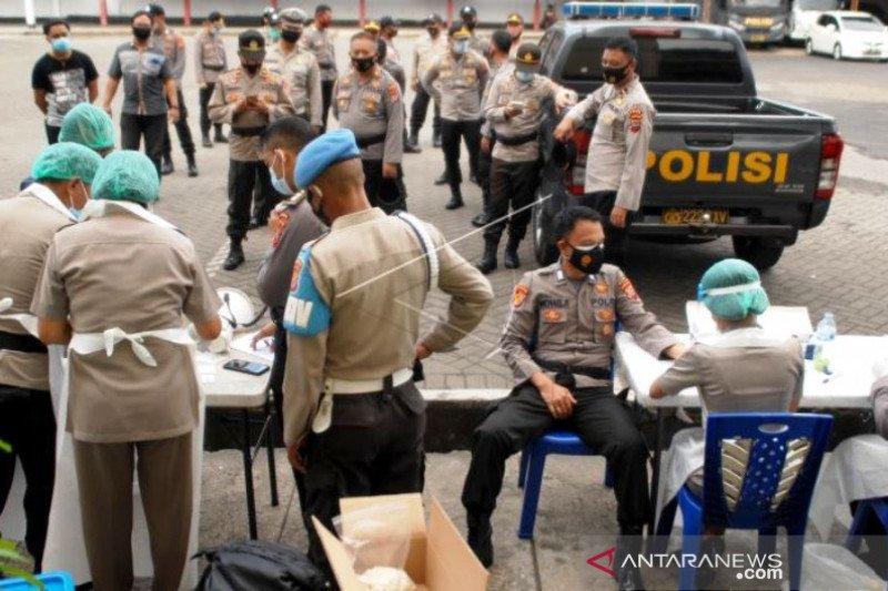 Tes Cepat Personel Pengamanan Pilkada