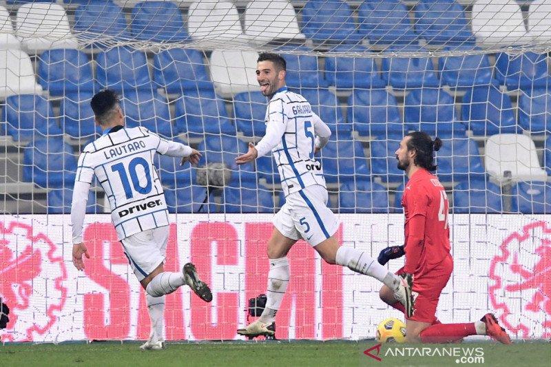 Inter Milan menundukkan Sassuolo 3-0