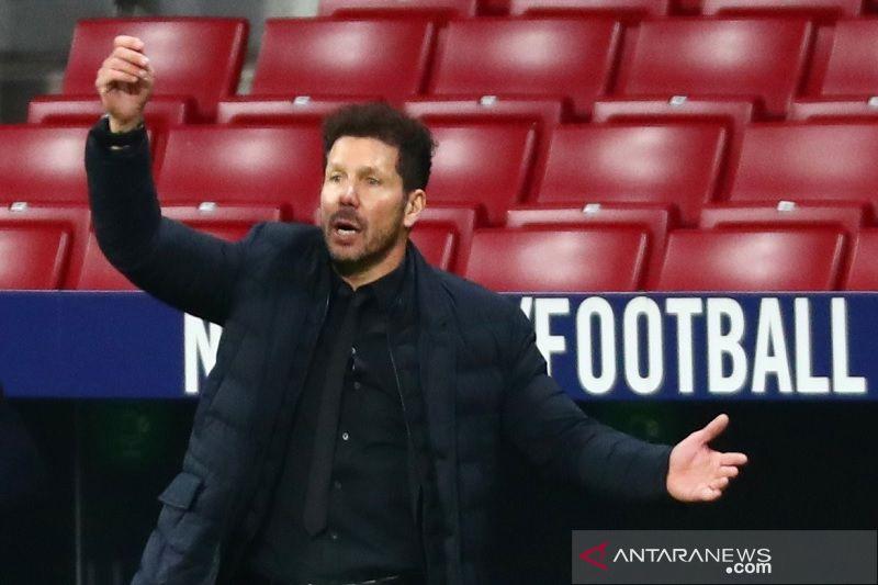 Pelatih Atletico kritik padatnya jadwal kompetisi di Liga Spanyol
