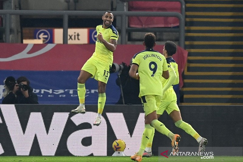 Newcastle tundukkan Crystal Palace di Liga Inggris
