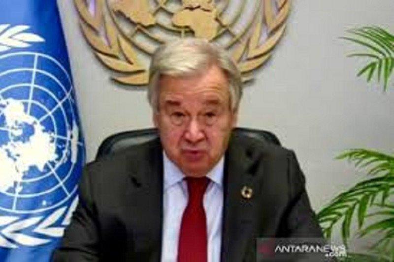 Sekjen PBB mengecam negara-negara penolak fakta COVID-19 dan pedoman WHO