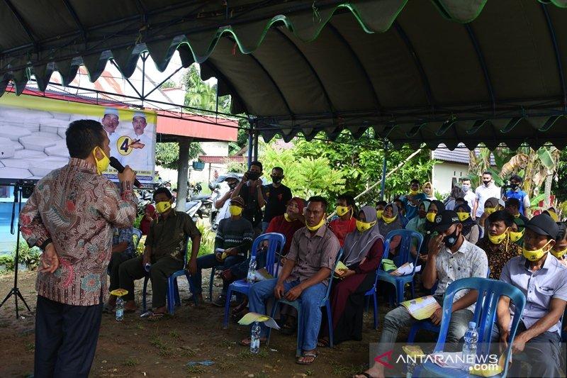 Tim Paslon SABIL laksanakan pelatihan saksi per kecamatan di HST