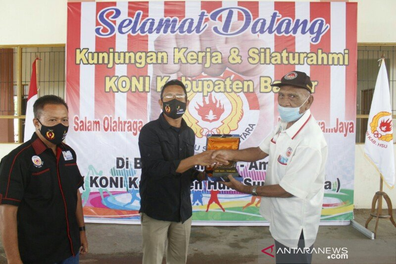 KONI Banjar Kepincut Kinerja KONI HSU