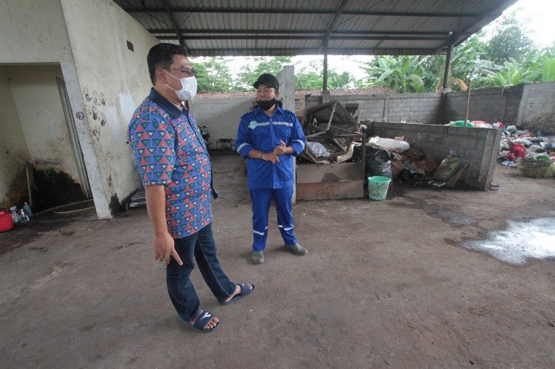 Pengelolaan TPS Dusun Bawuk terkendala kuota kubikasi sampah