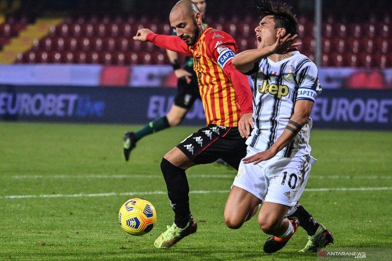 Tanpa Ronaldo, Juventus ditahan imbang Benevento