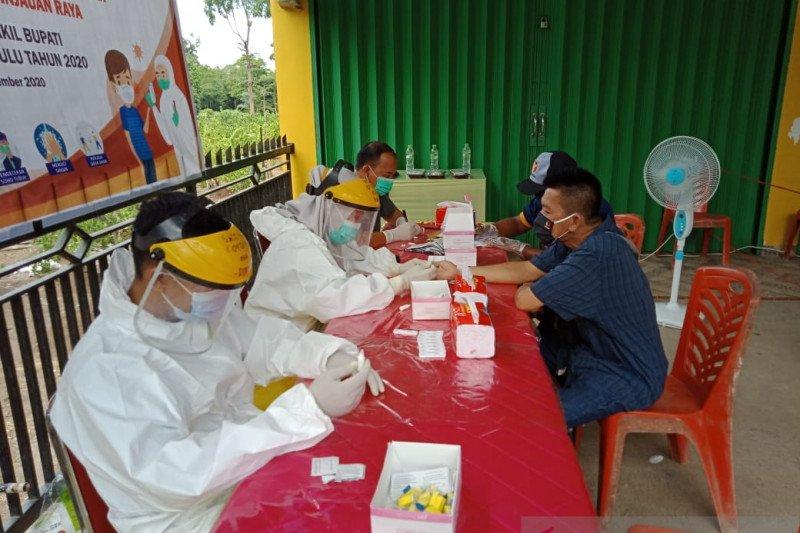 Bawaslu OKU rapid test 725  Pengawas TPS