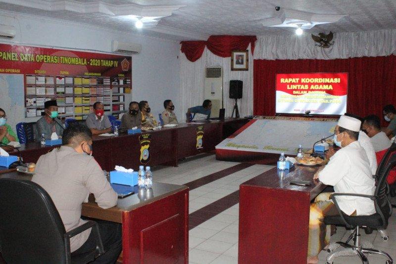 Forkompinda dan tokoh agama di Poso  antisipasi peristiwa Sigi
