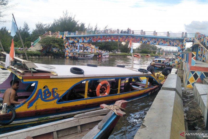 Wisatawan tetap antusias ke Pulau Angso Duo Pariaman meski cuaca ekstrem
