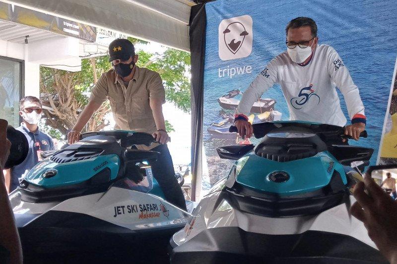 "Gubernur Sulsel luncurkan Jetski Makassar jadi ""Sport Tourism"""