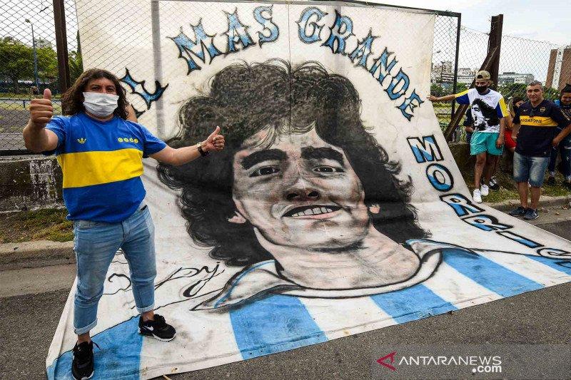 Hasil otopsi pastikan Maradona bersih jelang meninggal