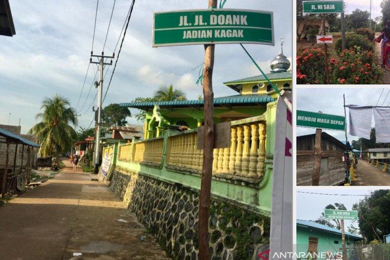 Nama jalan berkelakar di pulau penyangga Batam