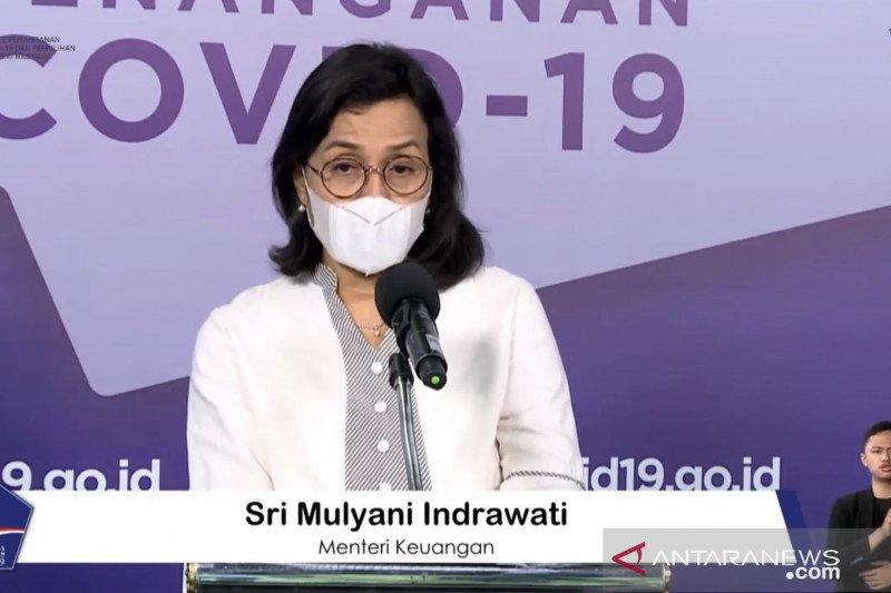 Sri Mulyani sebut anggaran pemulihan ekonomi  terealisasi Rp431,54 triliun