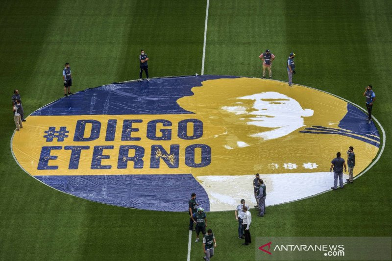 """Perebutan warisan, pengadilan Argentina ingin """"awetkan"""" jenazah Maradona"""