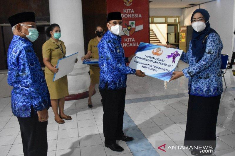 Korpri Kota Kupang bantu tenaga medis tangani pandemi COVID-19