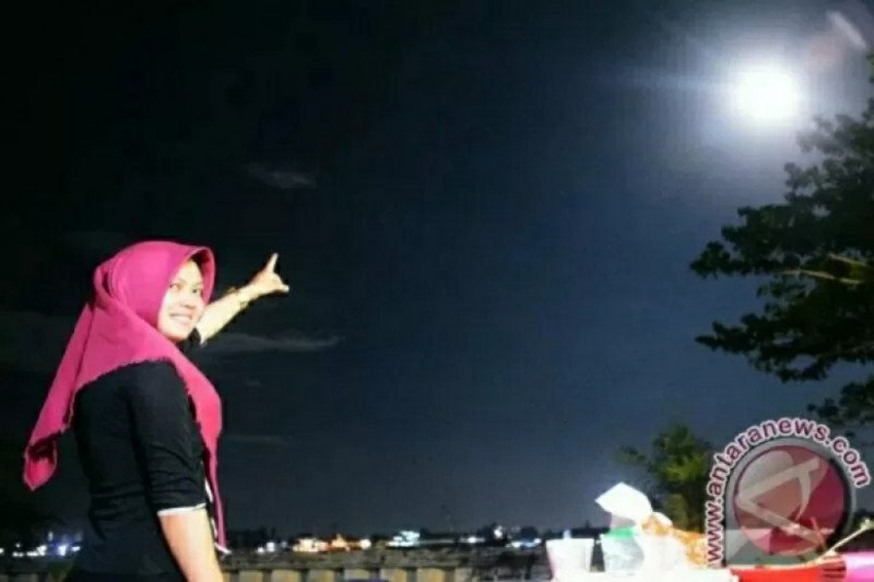 Gerhana bulan penumbra malam ini terlihat juga di Kaltara
