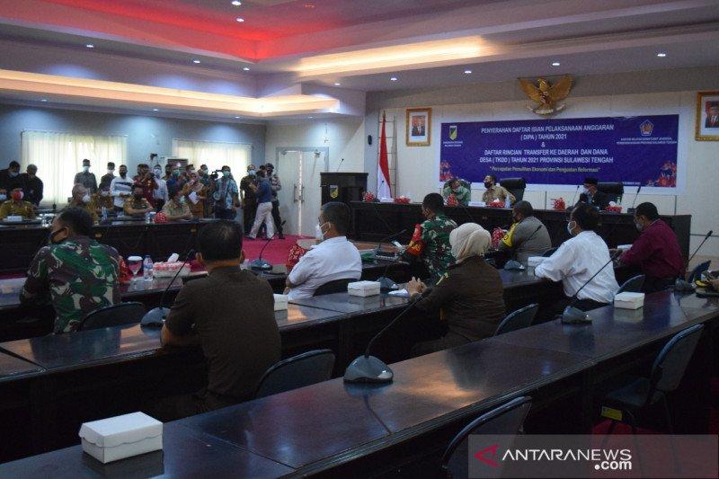 Pemkot Palu terima DIPA tahun 2021