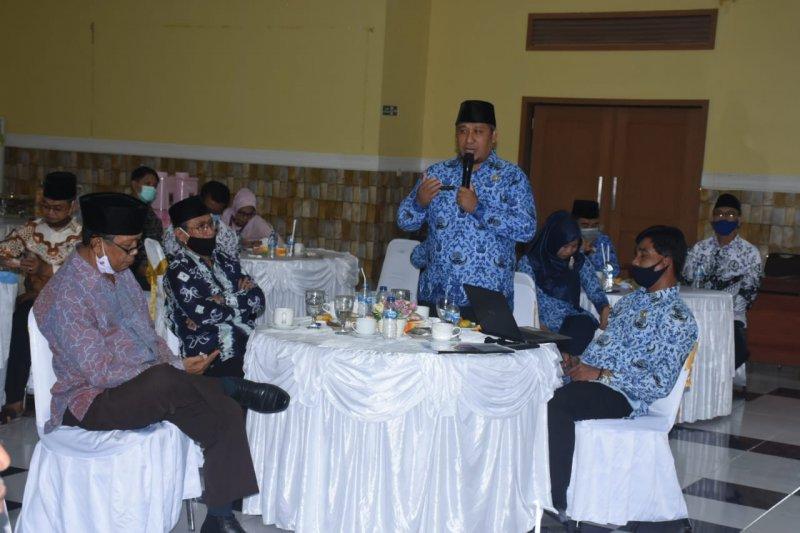 Plt Bupati silaturahmi bersama para tokoh KLU