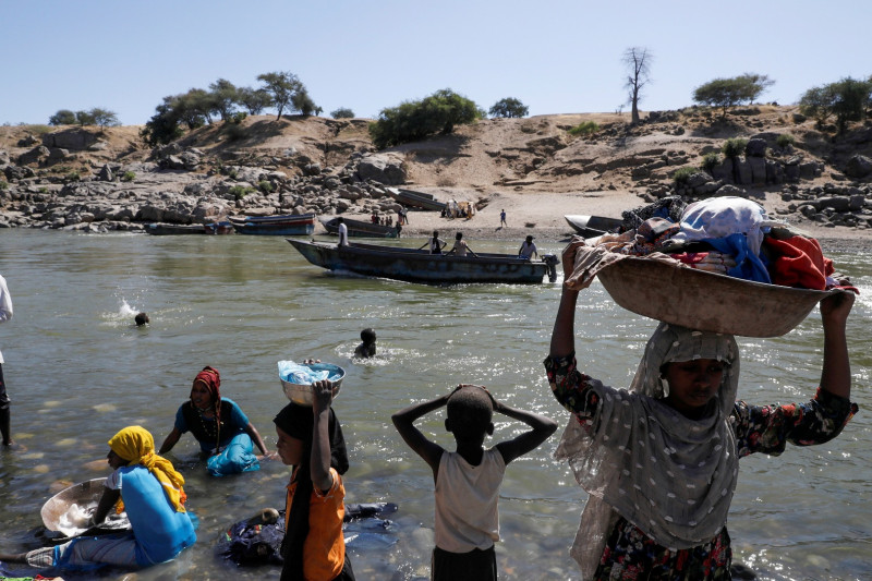 Tigray Ethiopia kembali bergejolak, ratusan warga sipil  tewas