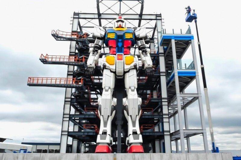 "Patung robot Gundam ""real size"" di Jepang siap dibuka pada Desember 2020"