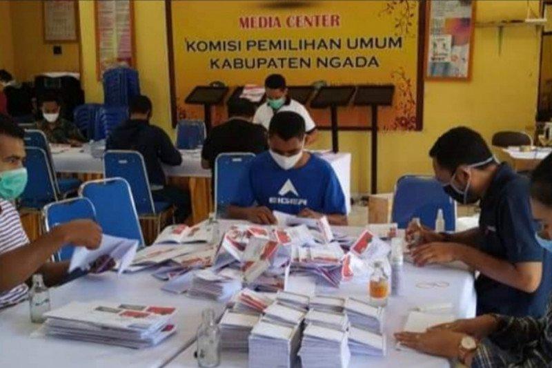 KPU Kabupaten Ngada kelebihan 533 surat suara