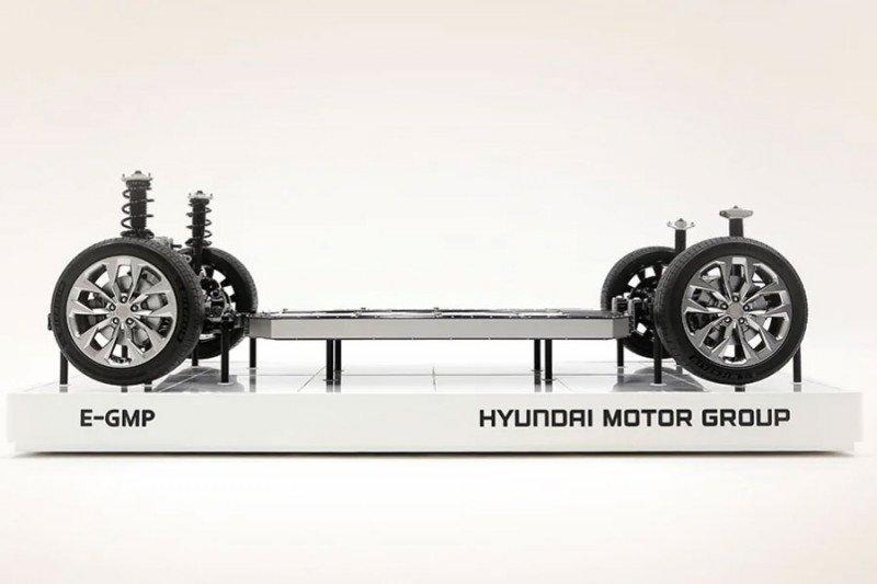 Mobil listrik Hyundai gunakan teknologi E-GMP tunda sampai 2021