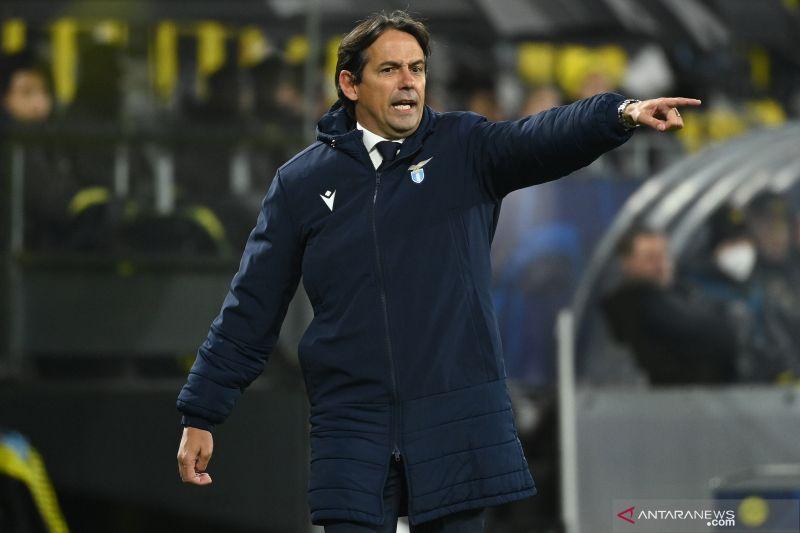 Simone Inzaghi menyesalkan Lazio belum bisa amankan tiket 16 besar