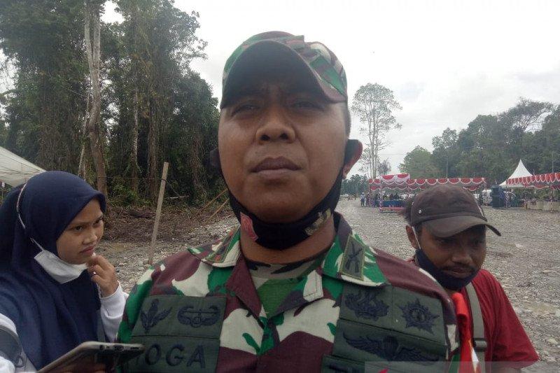 Kodim Mimika melanjutkan pencarian prajurit TNI hilang