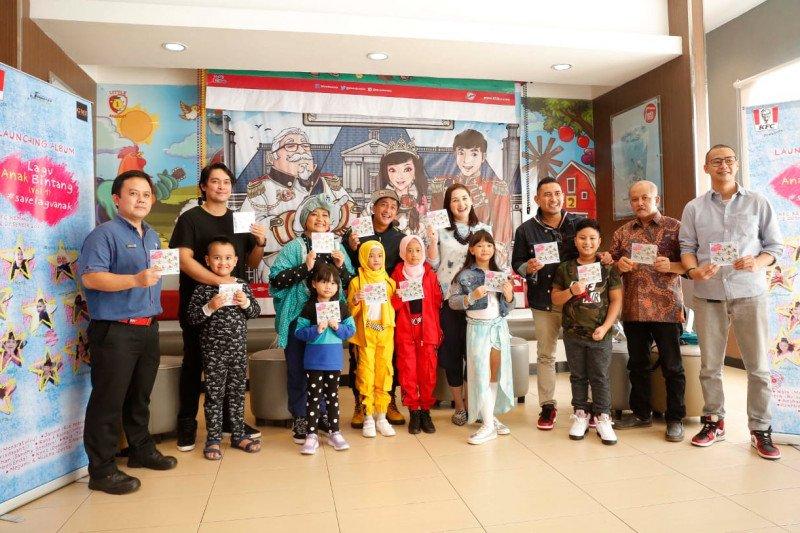 """Anak-anak selebritas merilis album """"Lagu Anak Bintang (Vol. 1)"""""""