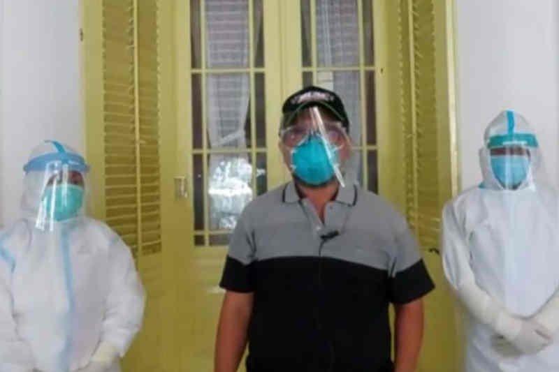 Tim medis bolehkan Bupati Cirebon isolasi mandiri