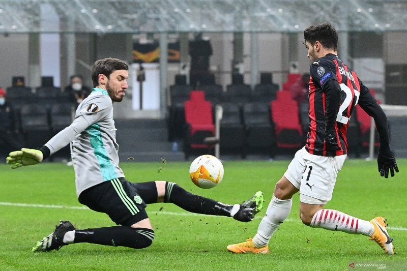 AC Milan dan Lille genggam tiket 32 besar usai laga putaran kelima