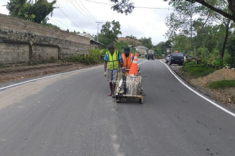 Jalan Bhayangkara siap dilintasi warga Tarakan