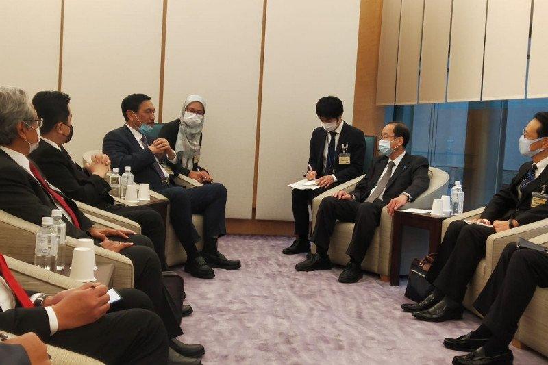 Luhut undang Jepang untuk tingkatkan investasi melalui SWF