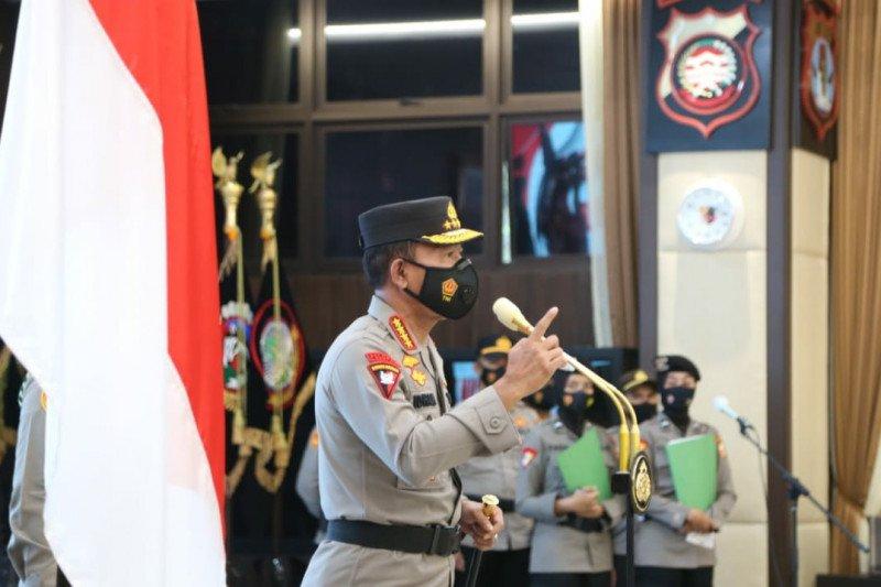 Kapolri menaikkan pangkat 46 perwira tinggi Polri