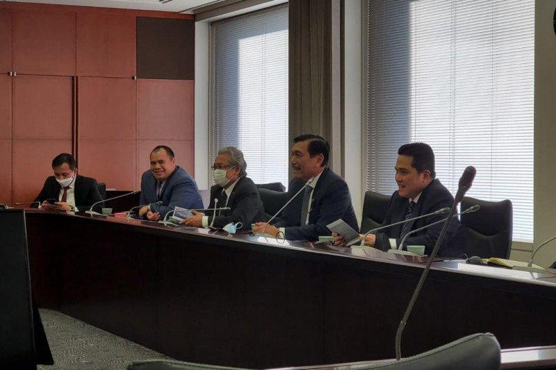 Luhut sebut Jepang siap investasi 4 miliar dolar untuk dukung SWF Indonesia