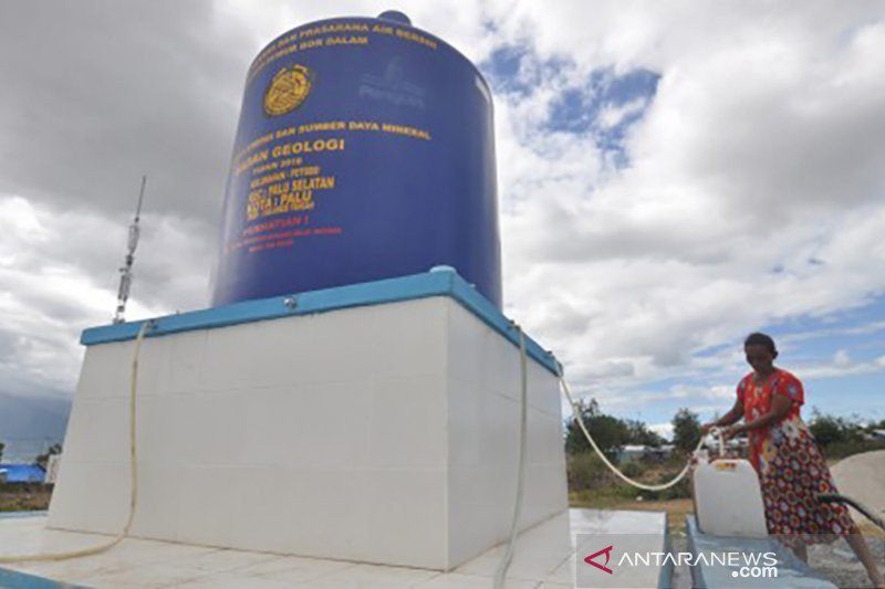 Kementerian ESDM telah bangun 3.404 sumur bor air bersih hingga akhir 2020