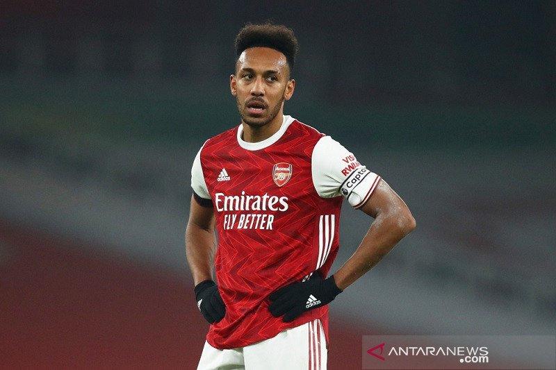 Aubameyang inginkan Derbi London Utara jadi titik balik performa Arsenal