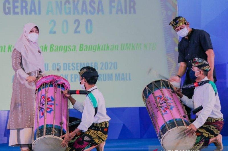 """Angkasa Pura menggelar """"Gerai Angkasa Fair 2020"""" bangkitkan UMKM NTB"""