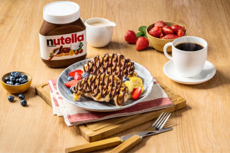 Minuman sehat menu serba cokelat, Nutella buka pop-up cafe di sekitar Jakarta
