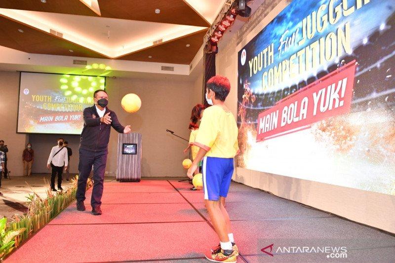 Cari bibit pesepak bola, Kemenpora gelar kompetisi Youth Fun juggling
