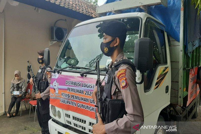 KPU Gunung Kidul mulai distribusikan logistik Pilkada 2020