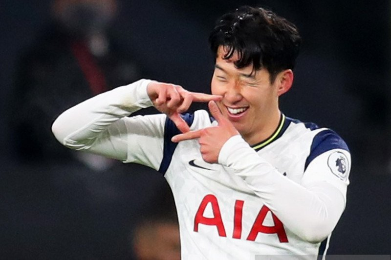 Son Heung-min jadi pesepakbola terbaik Korsel yang kelima kalinya