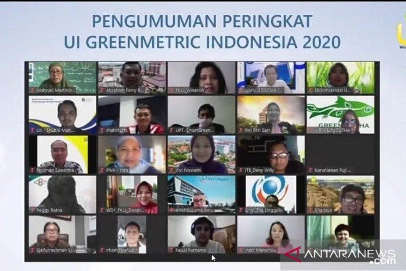 UNP bergerak dinamis di ajang UI GreenMatric Indonesia 2020