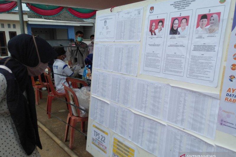 Calon Wakil Bupati Karawang Adly Fairuz tidak terdaftar sebagai pemilih