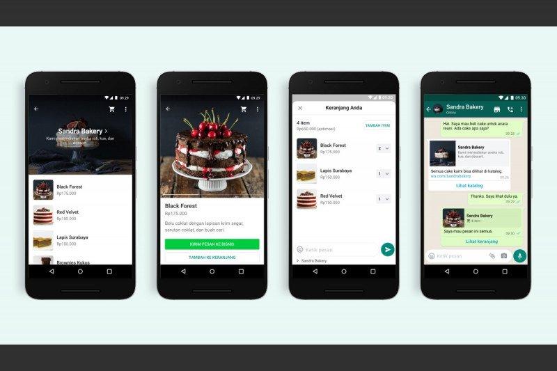 WhatsApp Business tambah fitur baru keranjang belanja