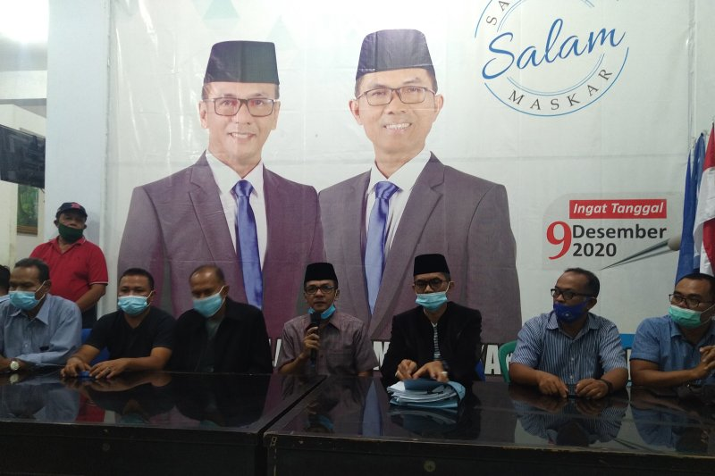 Dua paslon Bupati-Wakil Bupati Limapuluh Kota saling klaim kemenangan